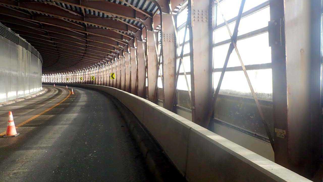 一般国道274号 清水町 清流覆道補修外一連工事